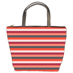 Stripey 13 Bucket Bag