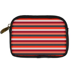 Stripey 13 Digital Camera Leather Case