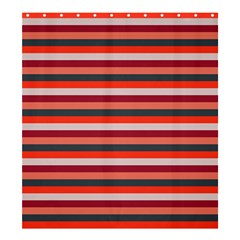 Stripey 13 Shower Curtain 66  x 72  (Large)