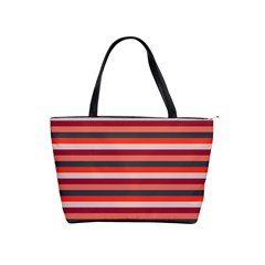 Stripey 13 Classic Shoulder Handbag