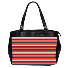 Stripey 13 Oversize Office Handbag (2 Sides)