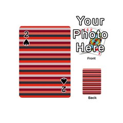 Stripey 13 Playing Cards 54 Designs (Mini)