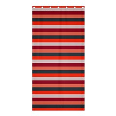 Stripey 13 Shower Curtain 36  x 72  (Stall)