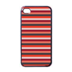 Stripey 13 iPhone 4 Case (Black)