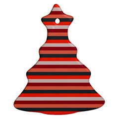 Stripey 13 Christmas Tree Ornament (Two Sides)