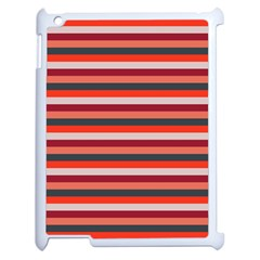 Stripey 13 Apple iPad 2 Case (White)