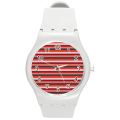 Stripey 13 Round Plastic Sport Watch (M)