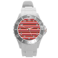 Stripey 13 Round Plastic Sport Watch (L)
