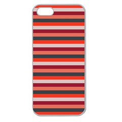 Stripey 13 Apple Seamless iPhone 5 Case (Clear)