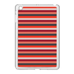 Stripey 13 Apple iPad Mini Case (White)