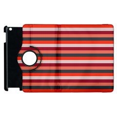Stripey 13 Apple iPad 3/4 Flip 360 Case