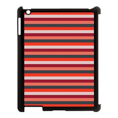 Stripey 13 Apple iPad 3/4 Case (Black)