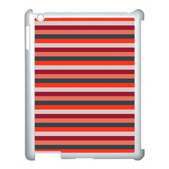 Stripey 13 Apple iPad 3/4 Case (White)