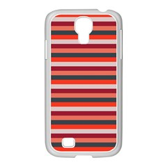 Stripey 13 Samsung GALAXY S4 I9500/ I9505 Case (White)