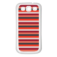 Stripey 13 Samsung Galaxy S3 Back Case (White)