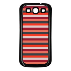 Stripey 13 Samsung Galaxy S3 Back Case (Black)