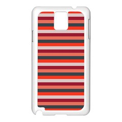 Stripey 13 Samsung Galaxy Note 3 N9005 Case (White)