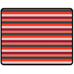 Stripey 13 Double Sided Fleece Blanket (Medium)