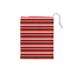 Stripey 13 Drawstring Pouch (Small)