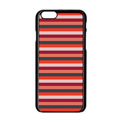 Stripey 13 iPhone 6/6S Black Enamel Case