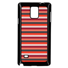 Stripey 13 Samsung Galaxy Note 4 Case (Black)
