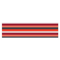 Stripey 13 Satin Scarf (Oblong)