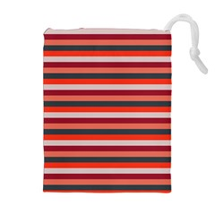 Stripey 13 Drawstring Pouch (XL)