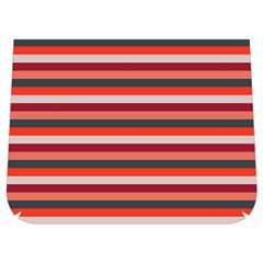 Stripey 13 Buckle Messenger Bag