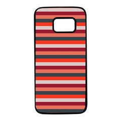 Stripey 13 Samsung Galaxy S7 Black Seamless Case