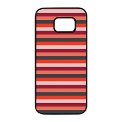 Stripey 13 Samsung Galaxy S7 edge Black Seamless Case