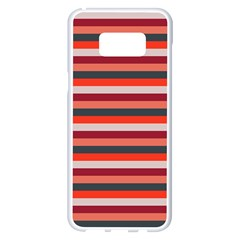 Stripey 13 Samsung Galaxy S8 Plus White Seamless Case