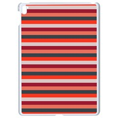 Stripey 13 Apple iPad Pro 9.7   White Seamless Case