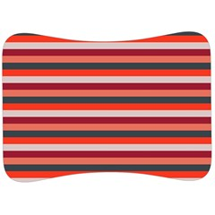 Stripey 13 Velour Seat Head Rest Cushion