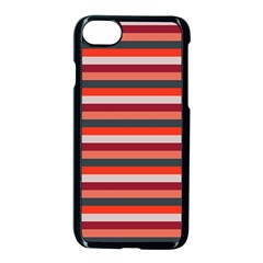 Stripey 13 iPhone 8 Seamless Case (Black)