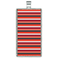 Stripey 13 Rectangle Necklace