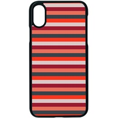 Stripey 13 iPhone XS Seamless Case (Black)