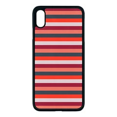 Stripey 13 iPhone XS Max Seamless Case (Black)