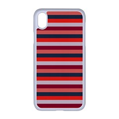 Stripey 13 iPhone XR Seamless Case (White)