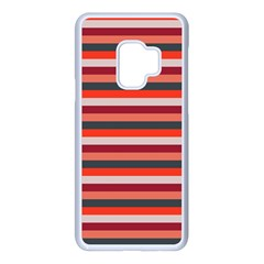 Stripey 13 Samsung Galaxy S9 Seamless Case(White)