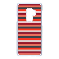 Stripey 13 Samsung Galaxy S9 Plus Seamless Case(white)