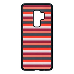 Stripey 13 Samsung Galaxy S9 Plus Seamless Case(Black)