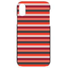 Stripey 13 iPhone XR Black UV Print Case
