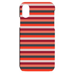Stripey 13 iPhone X/XS Black UV Print Case