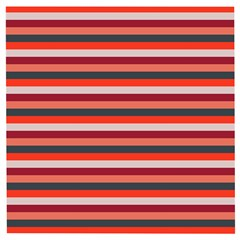 Stripey 13 Wooden Puzzle Square
