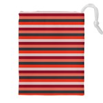 Stripey 13 Drawstring Pouch (3XL) Front