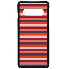Stripey 13 Samsung Galaxy S10 Seamless Case(Black)