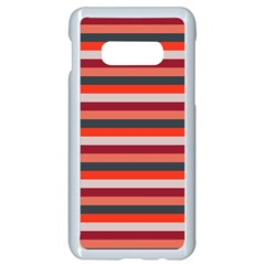 Stripey 13 Samsung Galaxy S10e Seamless Case (White)