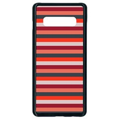 Stripey 13 Samsung Galaxy S10 Plus Seamless Case (Black)