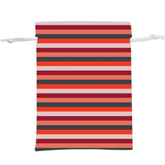 Stripey 13  Lightweight Drawstring Pouch (XL)