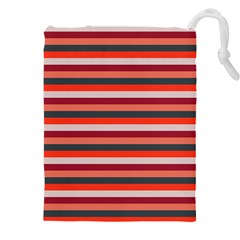 Stripey 13 Drawstring Pouch (5XL)